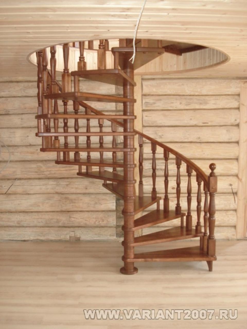 Круглая лестница фото